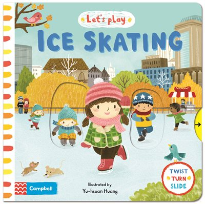 Book cover for Let's Play Ice Skating